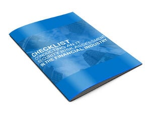 checklist conducting it security assessment finance cover