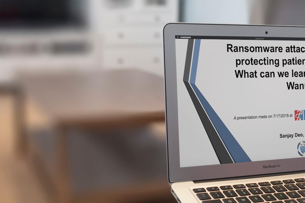 ransomware presentation
